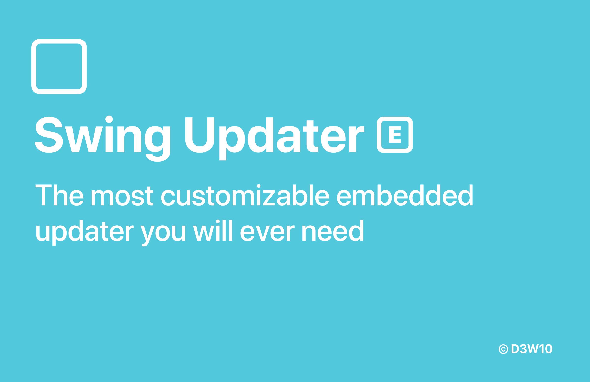 Swing Updater [E] Banner